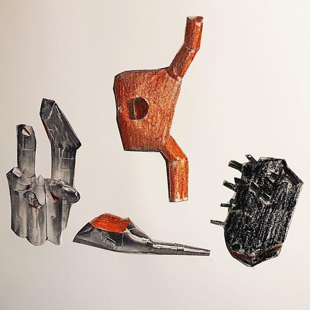 Estela Saez sketches