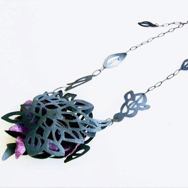 Statement Contemporary Art Jewelry Tamagit Yiota Vogli