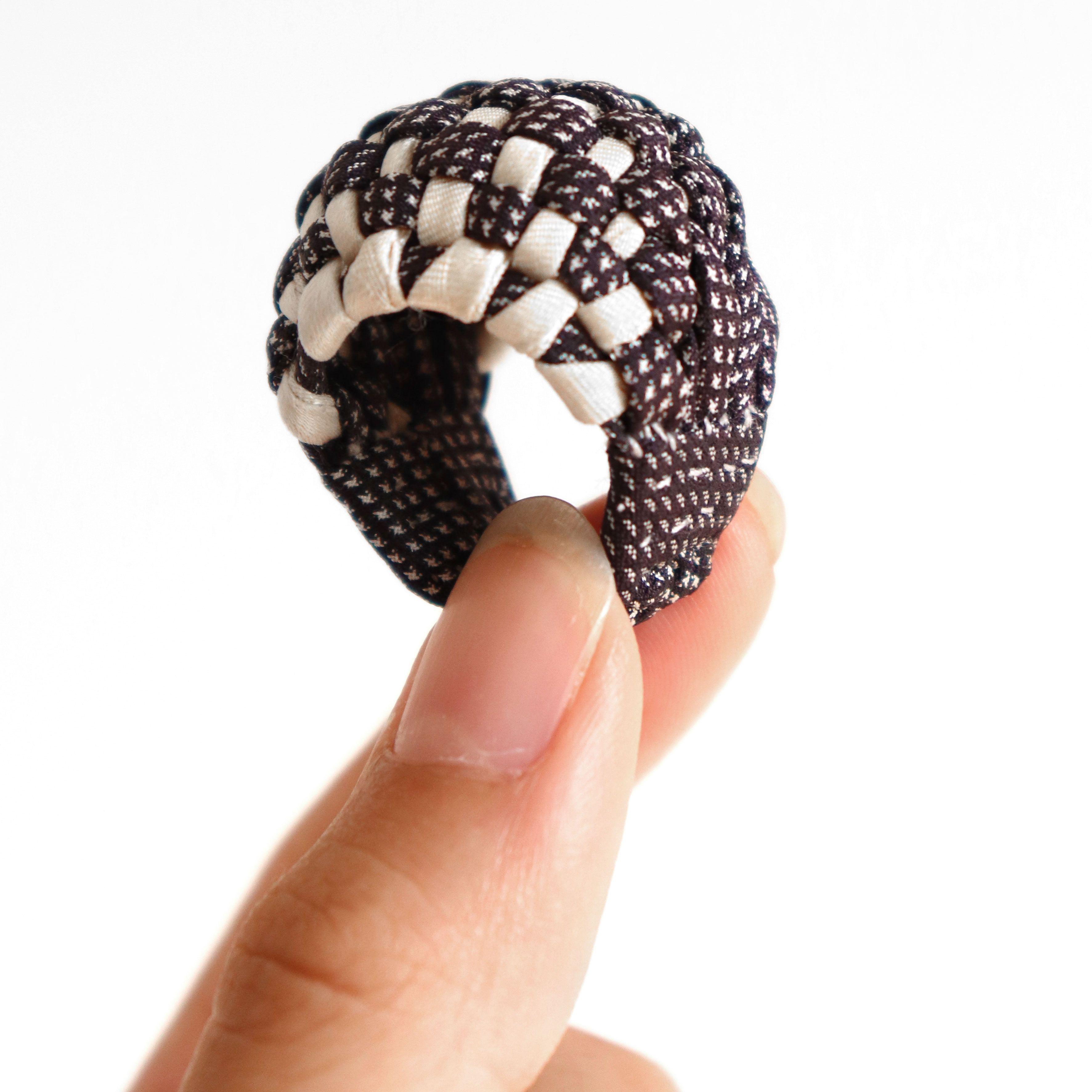 Statement Contemporary Art Jewelry Tamagit ring Yumi Kato