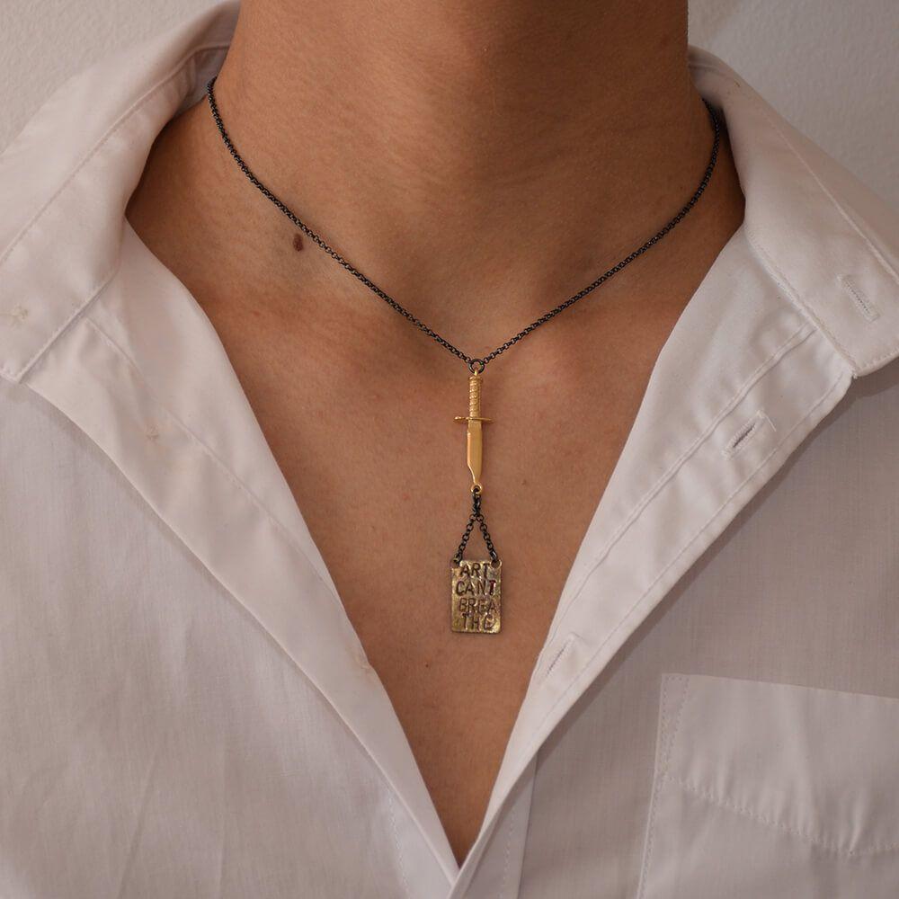 Statement Art Jewelry Tamagit Artcantbreathe Icantbreathe Nicolas Estrada