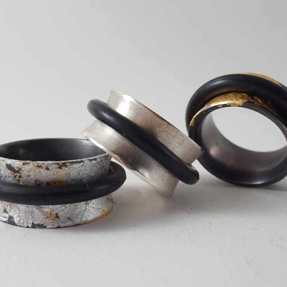 Rings by Silvia Serra