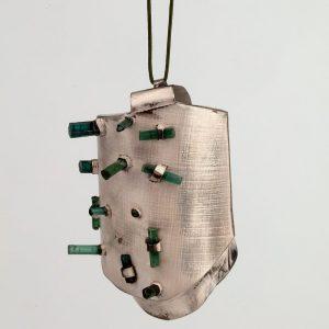Habibi pendant by Estela Saez on Art Jewelry Forum